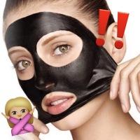 DANGER: Black Peel-off Masks