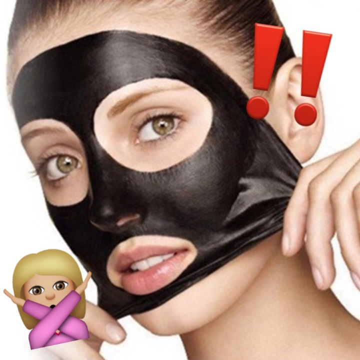 DANGER: Black Peel-off Masks