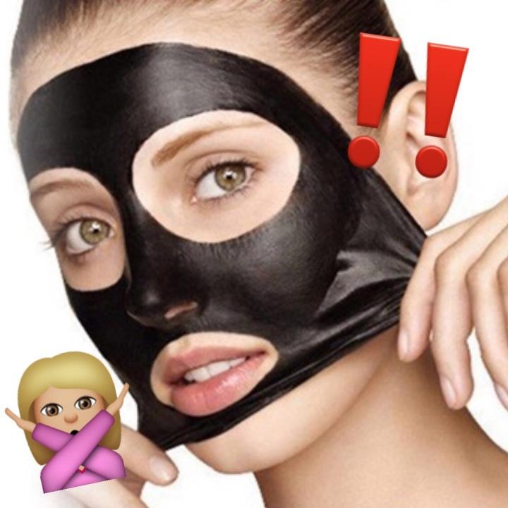 DANGER: Black Peel-offMasks